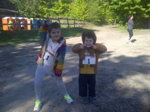 And they love to run the 5 peaks races too!